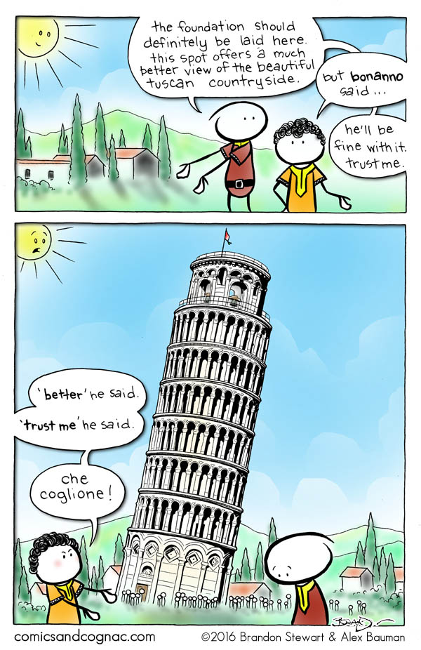 Remember that trip to Italy?
